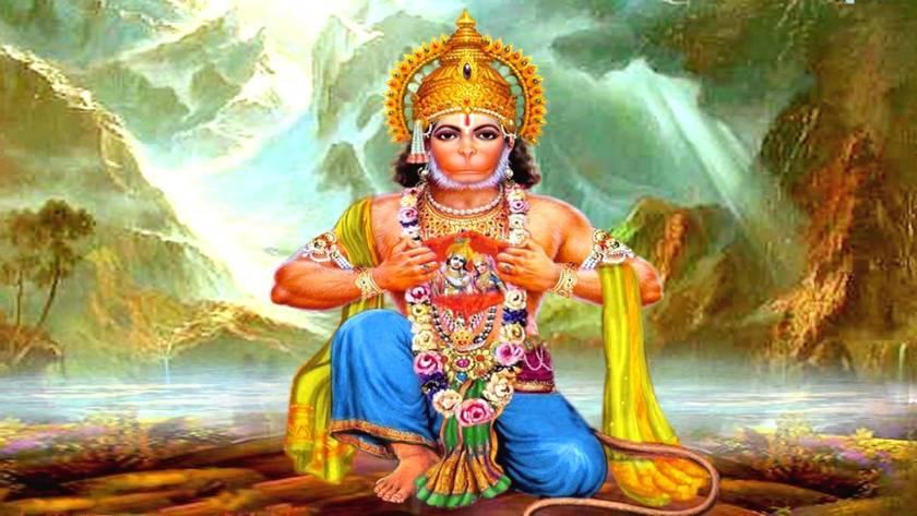 Hanuman il protettore dell'umanità
